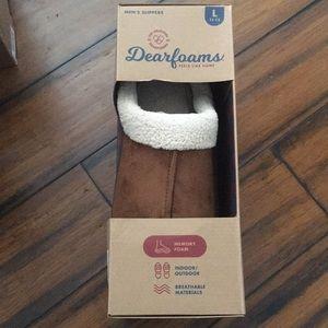 BRAND NEW Dearfoams indoor/outdoor Slippers